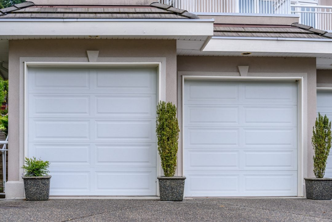 Basic White Horizontal Panel Doors