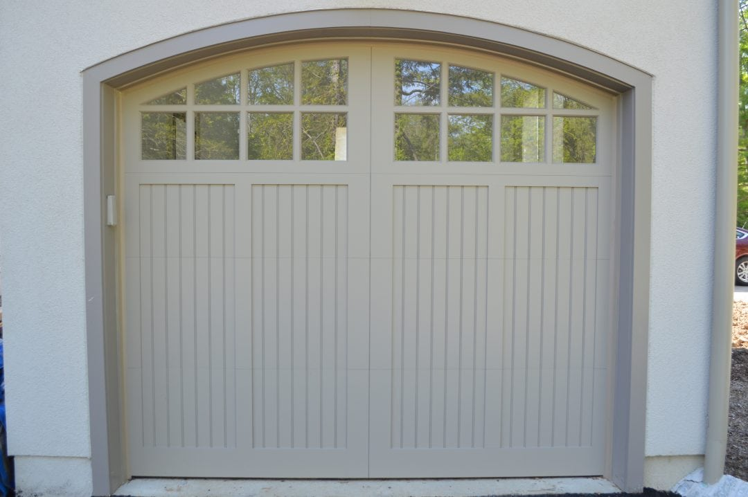 Thin Panel Arched Windows