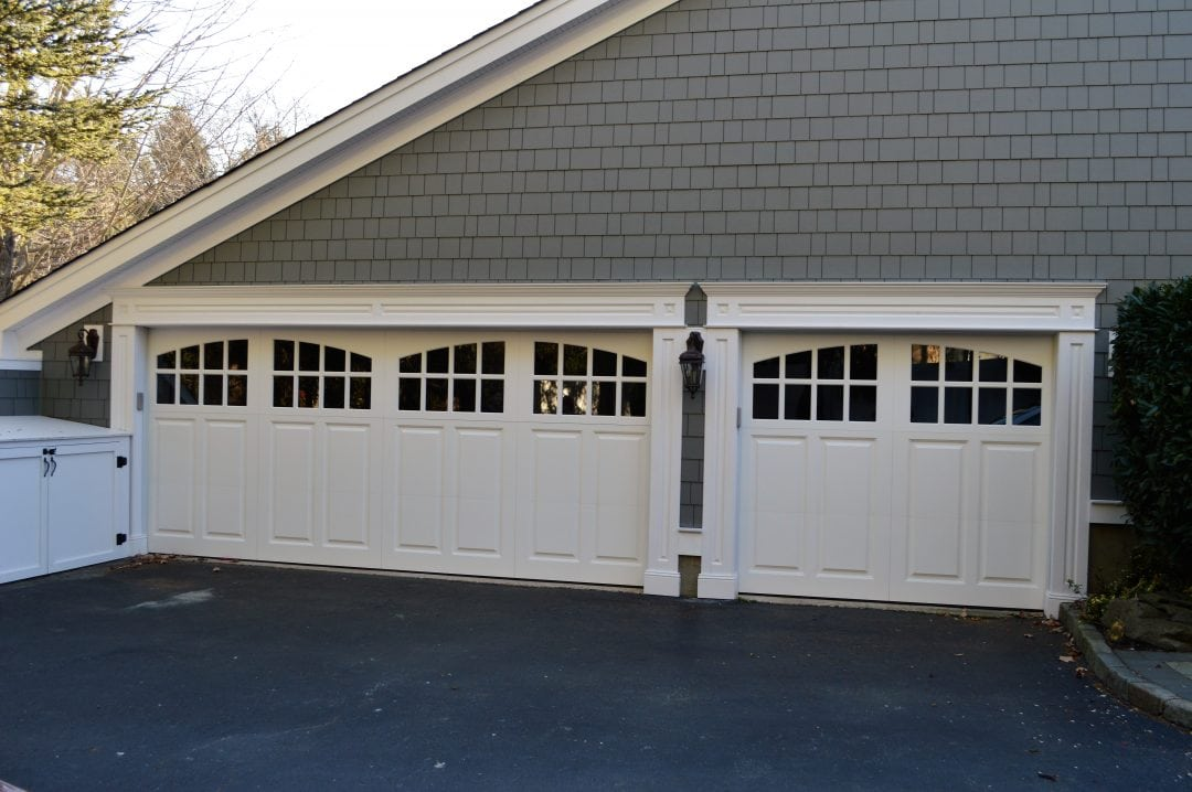 White Doors, Panel, Arched Windows