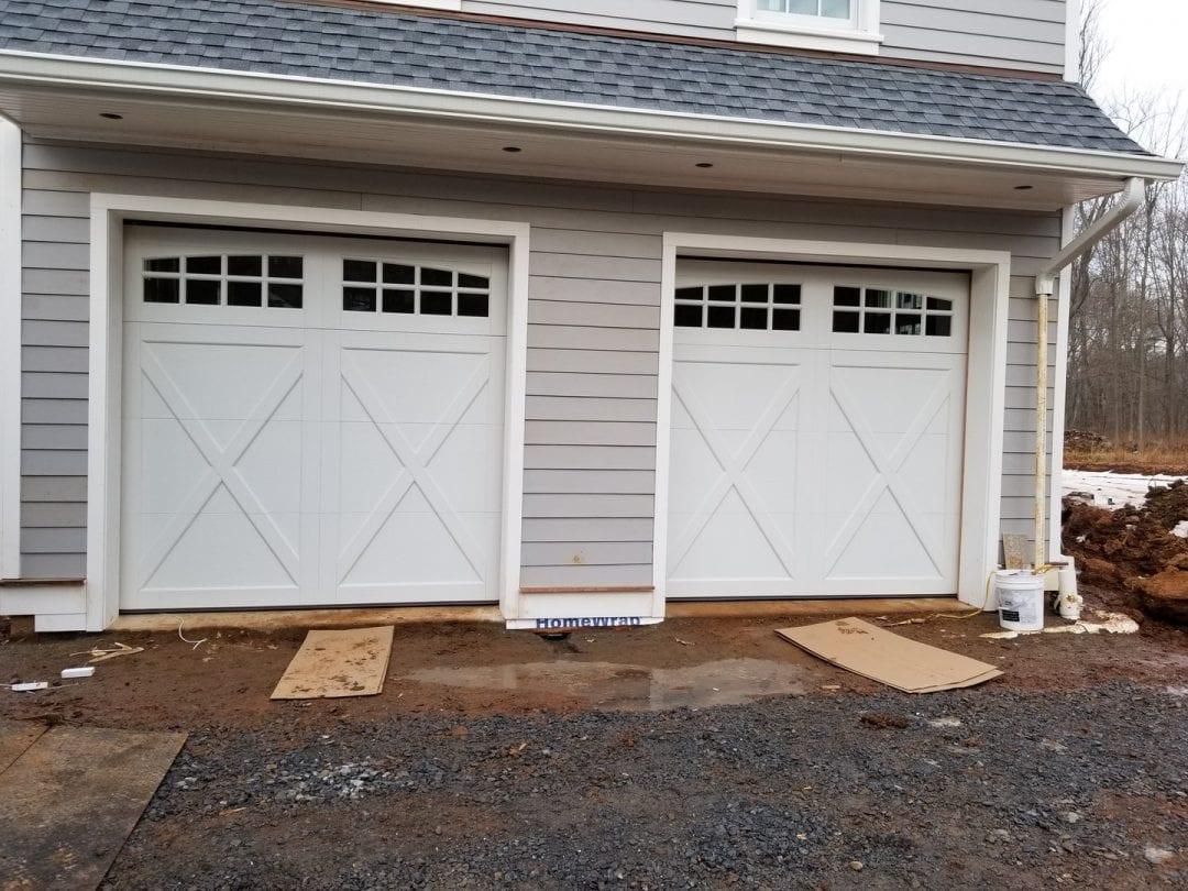 Installation of Double Garage Doors